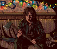 STRANGER THINGS: JOYCE BYERS by aquiles-soir