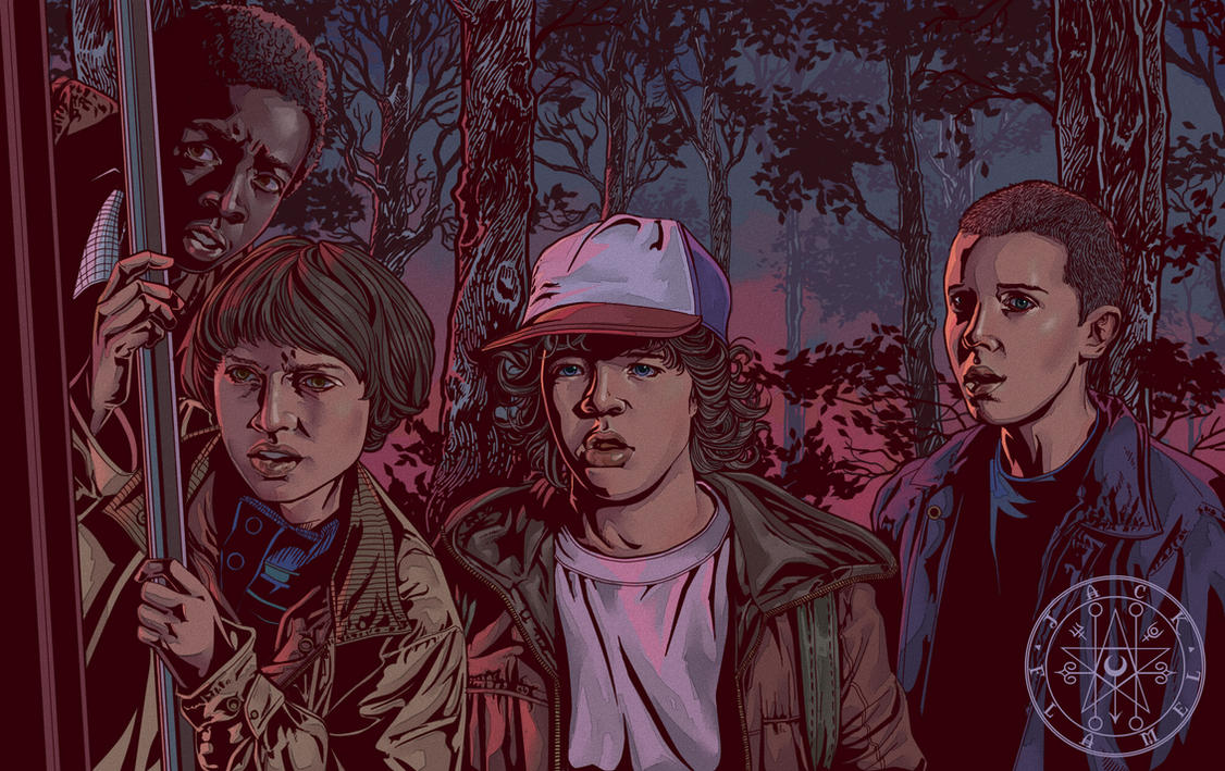STRANGER THINGS: CHILDREN by aquiles-soir