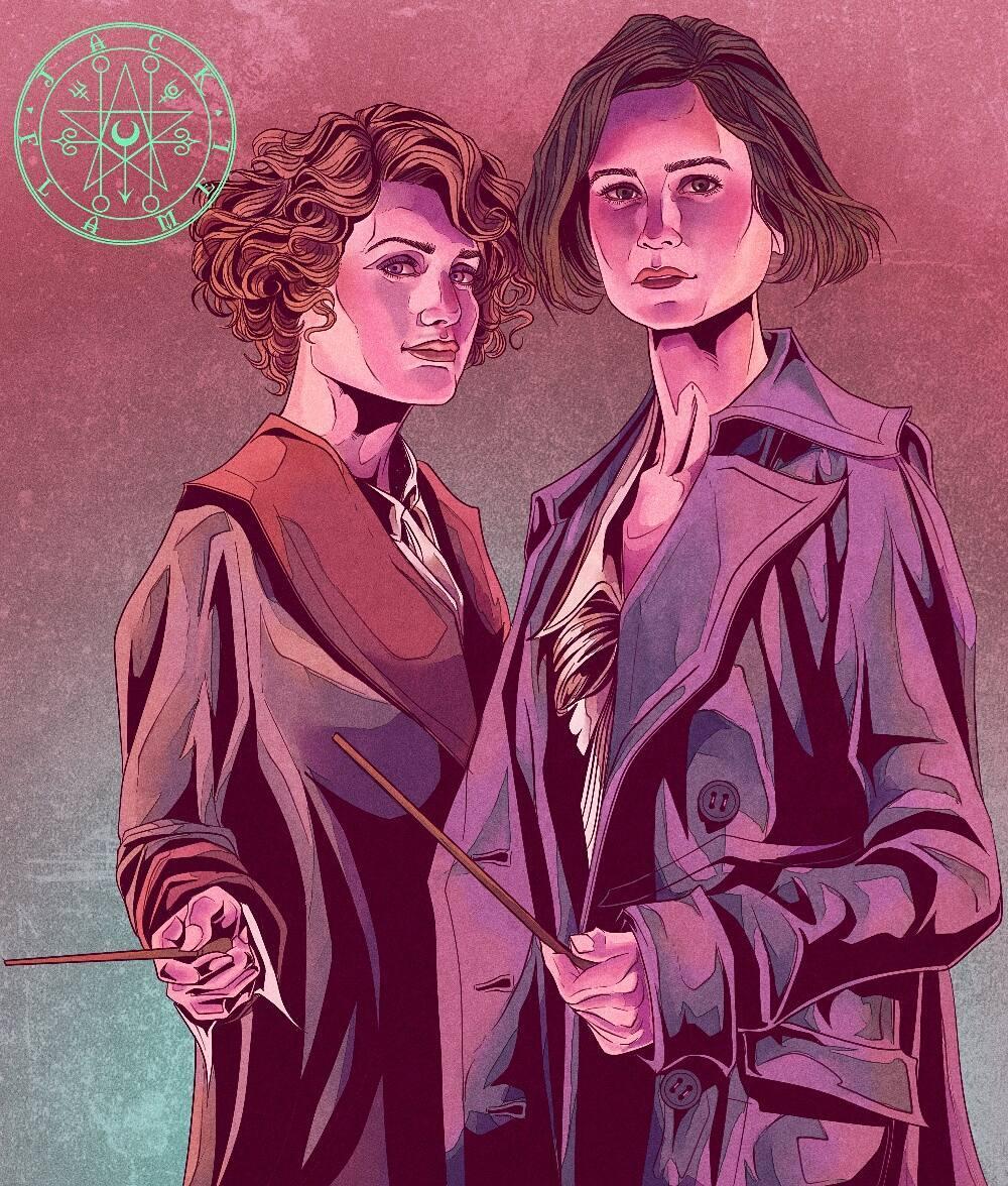 TINA AND QUEENIE GOLDSTEIN