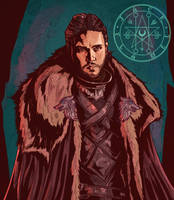 Jon Snow by aquiles-soir