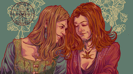 Tara and Willow by aquiles-soir