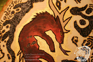 Kimbo Pyrography - Detail by leopardwolf