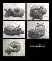 Stephen Quoll Sculpt by leopardwolf