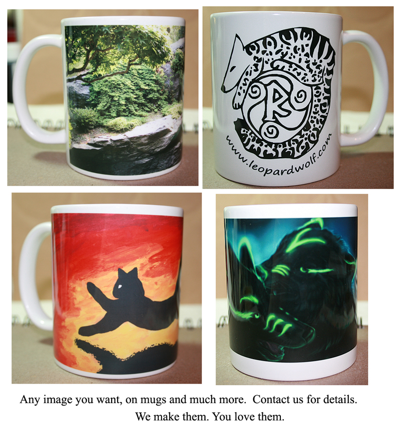 Mugs And More by leopardwolf