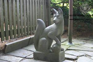 Shrine Fox 2 by leopardwolf