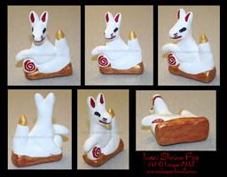 Inari Shrine Fox 1 by leopardwolf