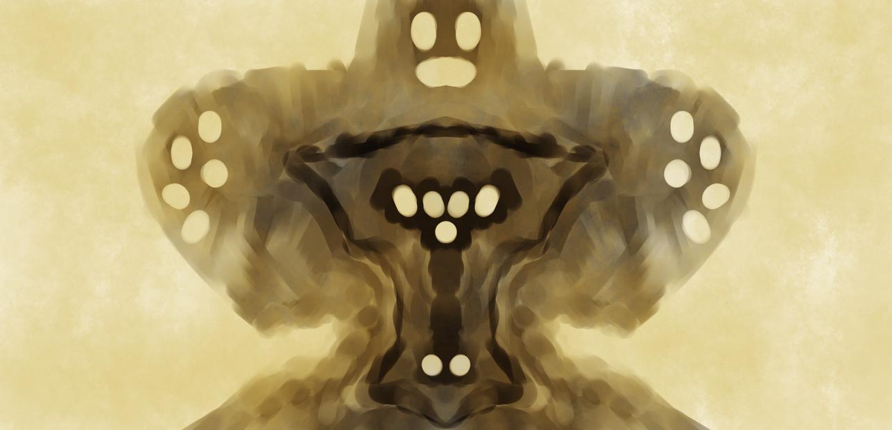 Krita Mirror Creature by qubodup