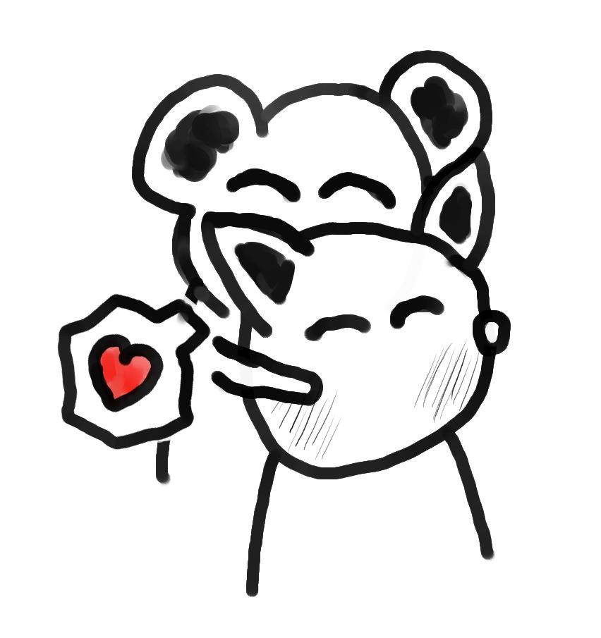 Bear Hugs Cat Valentine's Love Comic by qubodup