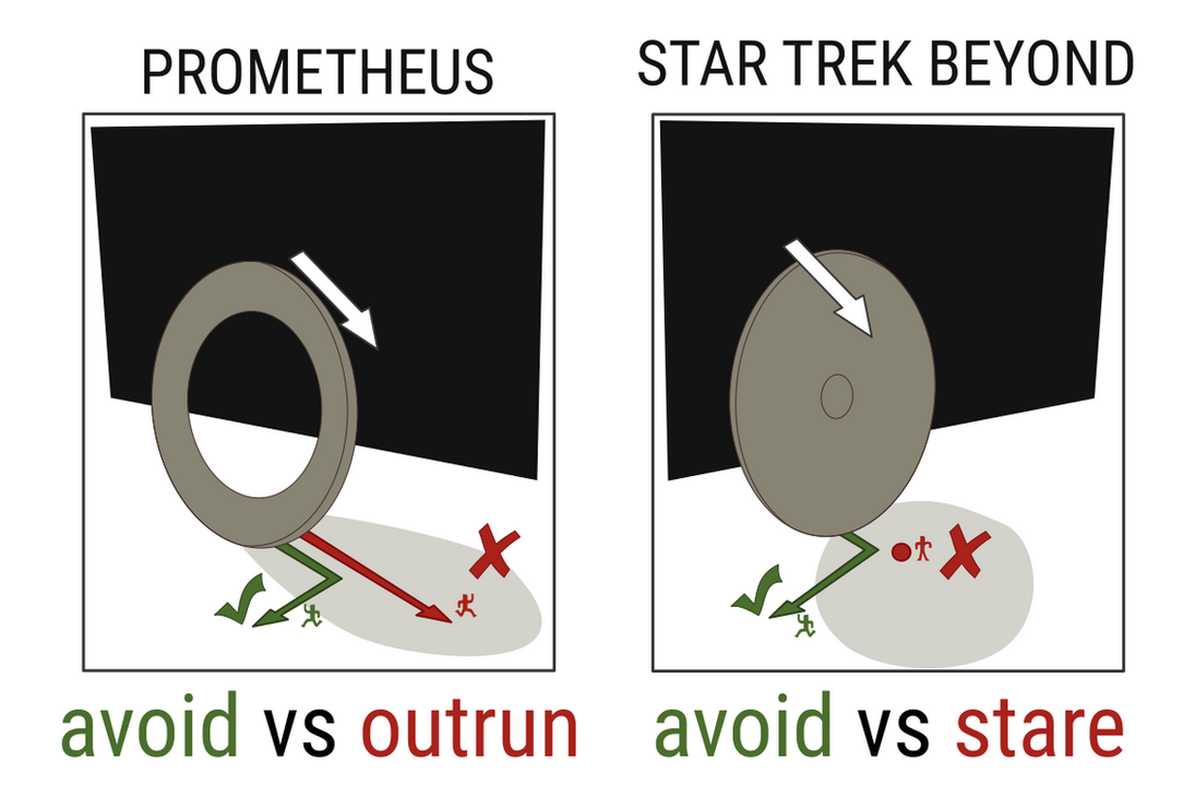Star Trek Beyond vs. Prometheus - Run Away by qubodup