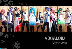 Cosplay : Vocaloid - Just A Game