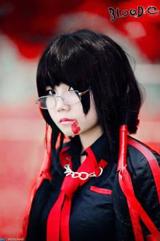 Cosplay : Kisaragi Saya - Blood-C