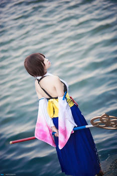 Cosplay : Yuna - Final Fantasy X