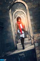 Mikasa - Shingeki no Kyojin by MaxLy