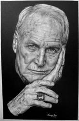 Paul Newman by Hongmin