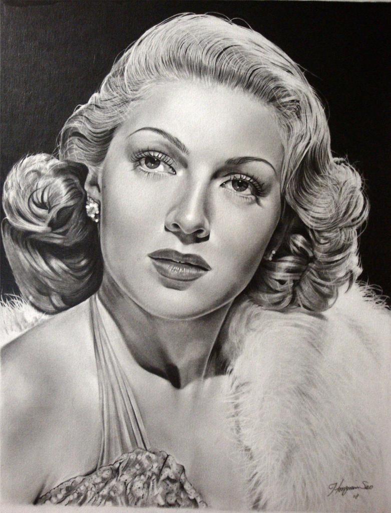 Lana Turner- golden era 5 by Hongmin