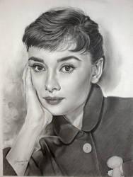 Audrey Hepburn - series 7th by Hongmin