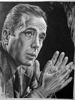 Humphrey Bogart by Hongmin