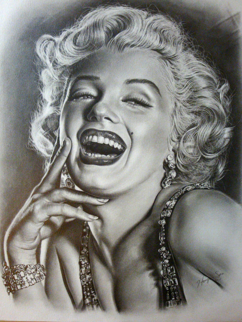 Marilyn Monroe, the third by Hongmin