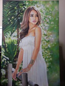 Danielle Lo The model portrait