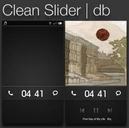 Miui Theme: Clean Slider Lockscreen