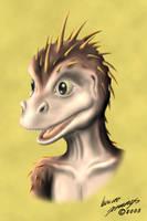 Character Head Study - Bio by Calyfern