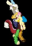 mlp vector : Eris and Butterscotch