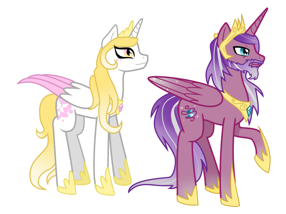 Princess Cadence's parents by AnormalADN on DeviantArt