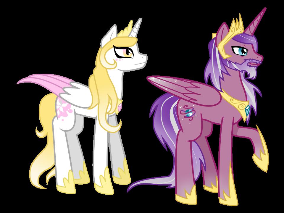 Princess Cadence's parents by AnormalADN on DeviantArt