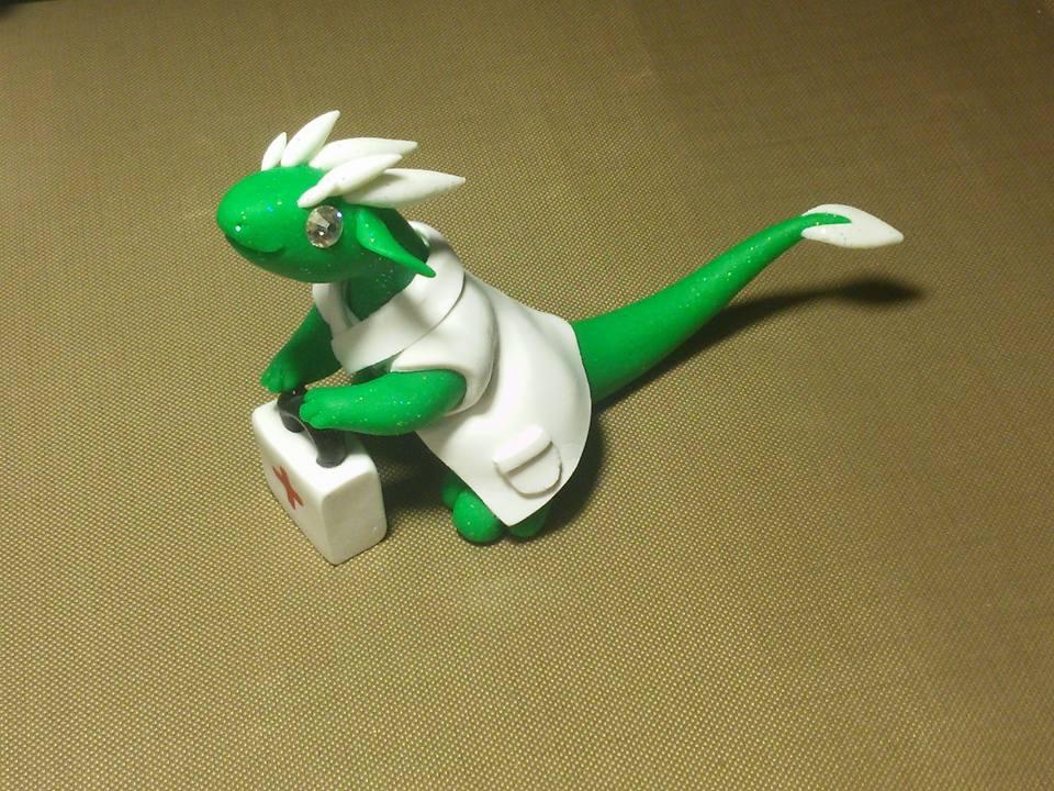 Little Nurse dragon by KiwiPheonix