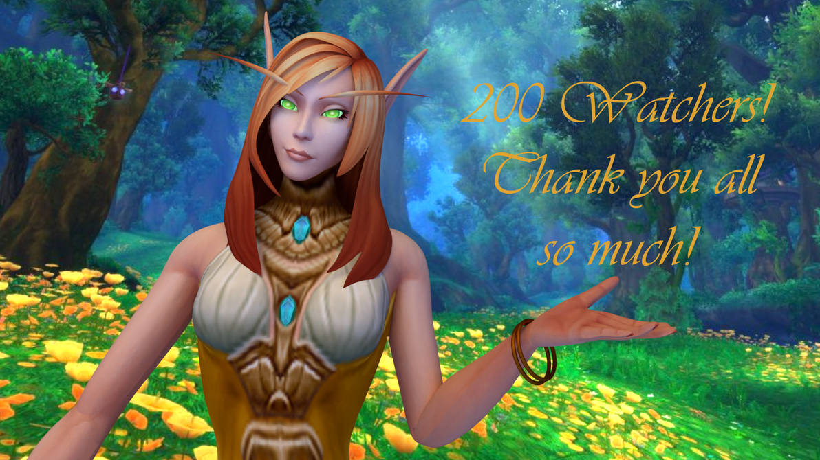 200 Watchers to Thank!