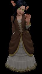 Thaela (update) by WolfjeLina