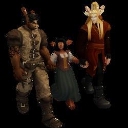 Baaen, Ru and Astan