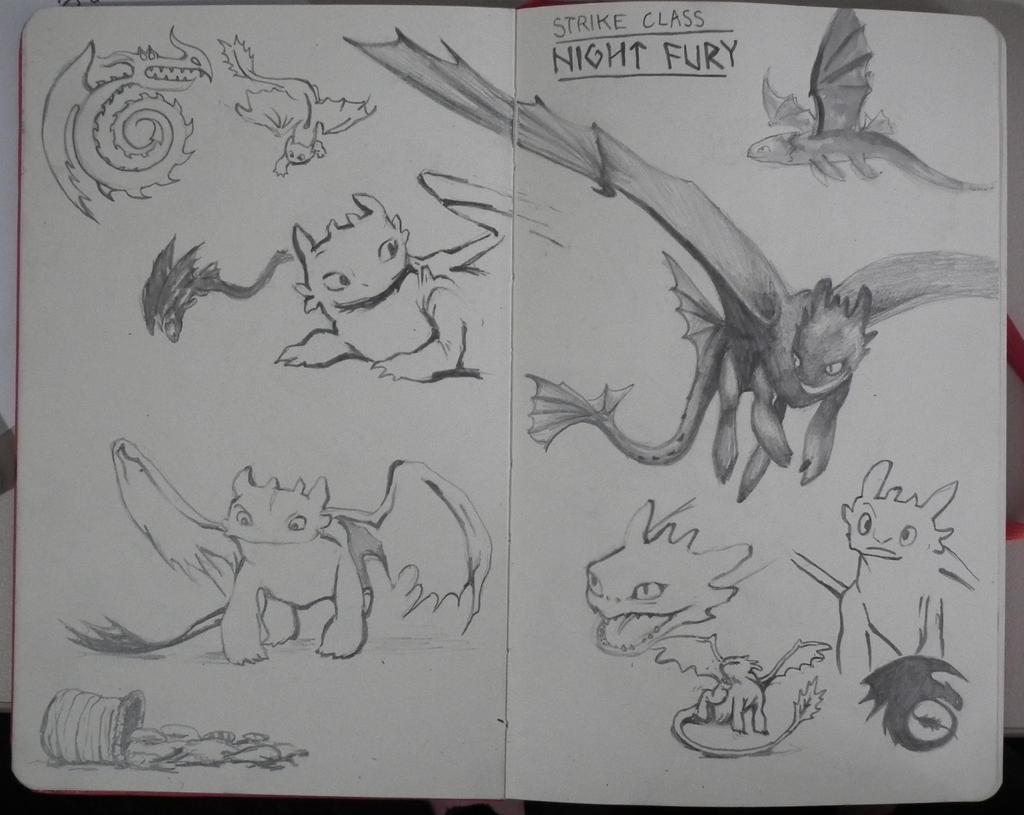 Night Fury by 3rdwheeler on DeviantArt