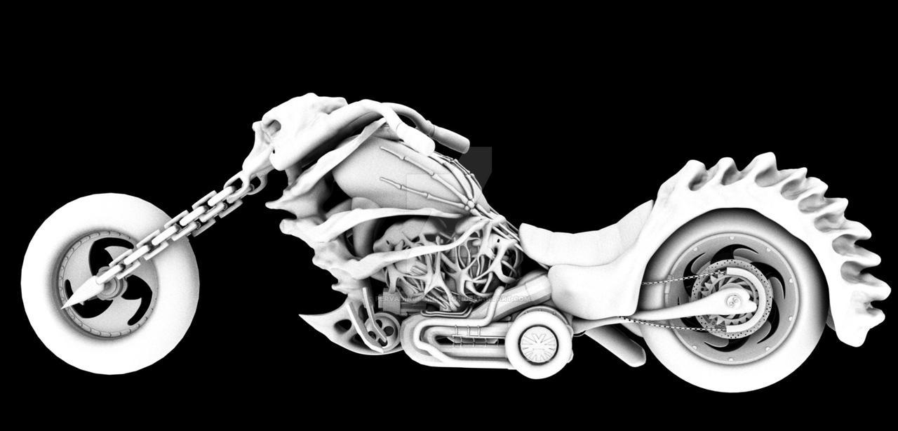 Ghost Rider Concept Bike2 By Pervadingformation On Deviantart