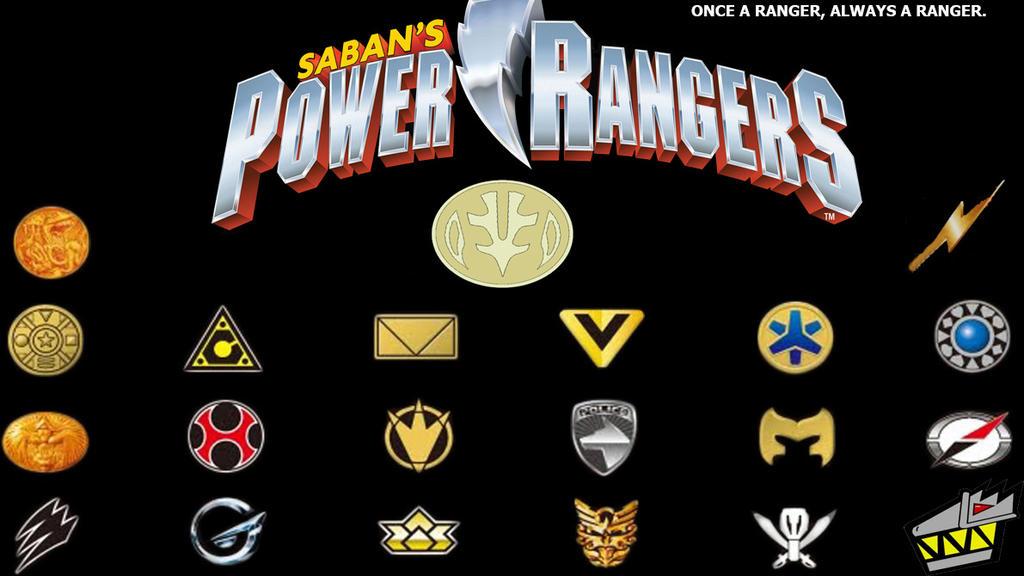 Power Rangers Samurai Symbols
