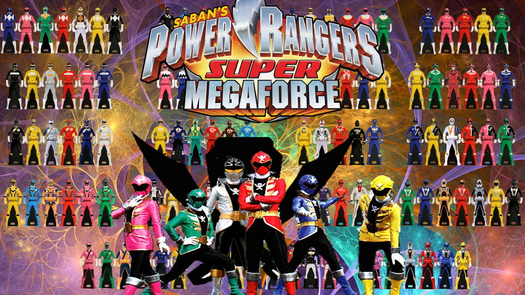 Power Rangers Super Megaforce by Jitterdoomer on DeviantArt