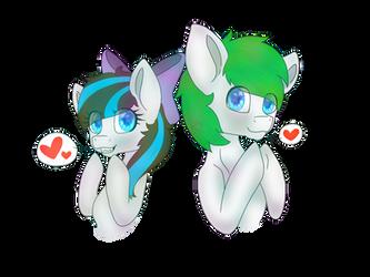 Cute pones  by FrozenStudios