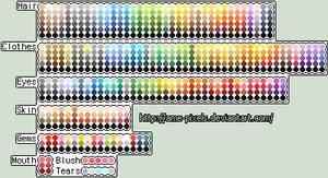 Ame's Color Palettes