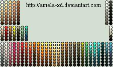 Dry Palettes by Amela-xD
