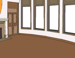 Background: Hall by Amela-xD