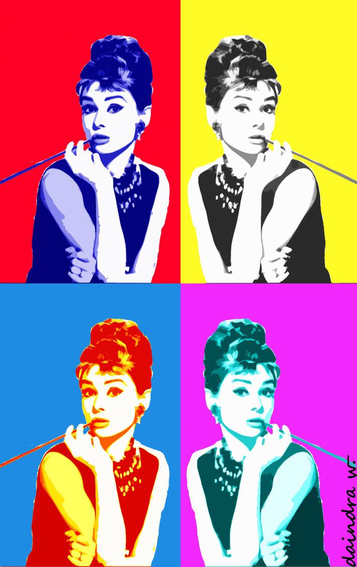 Audrey Hepburn - Pop Art by daischinki on DeviantArt
