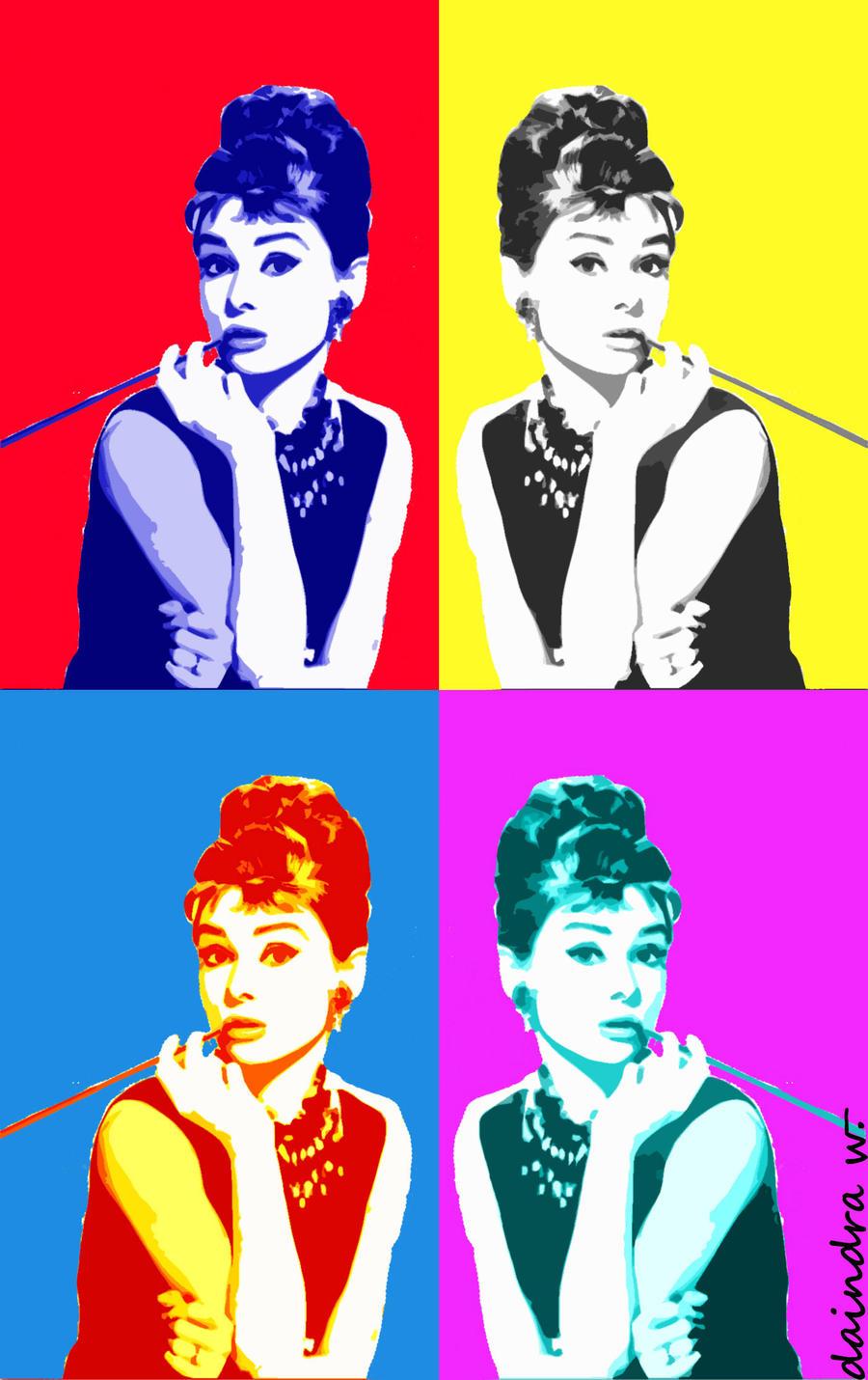Audrey hepburn pop art by daischinki on deviantart - Cuadros audrey hepburn ...