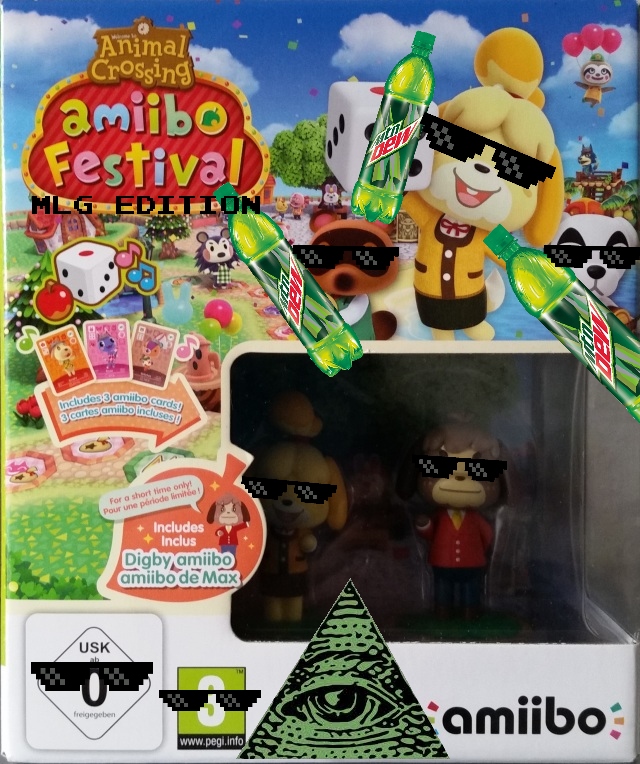 A C  - amiibo Festival - MLG Edition (Eur Box Art) by