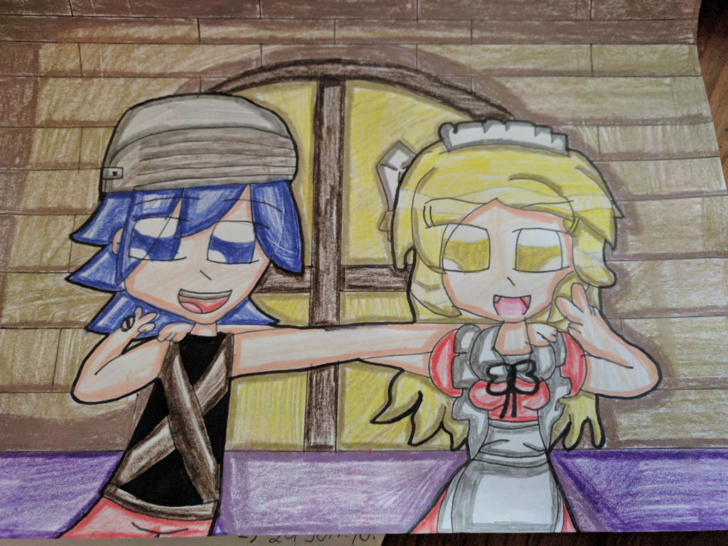 Ruto and Yumeko (Crossover) by Daniela56438