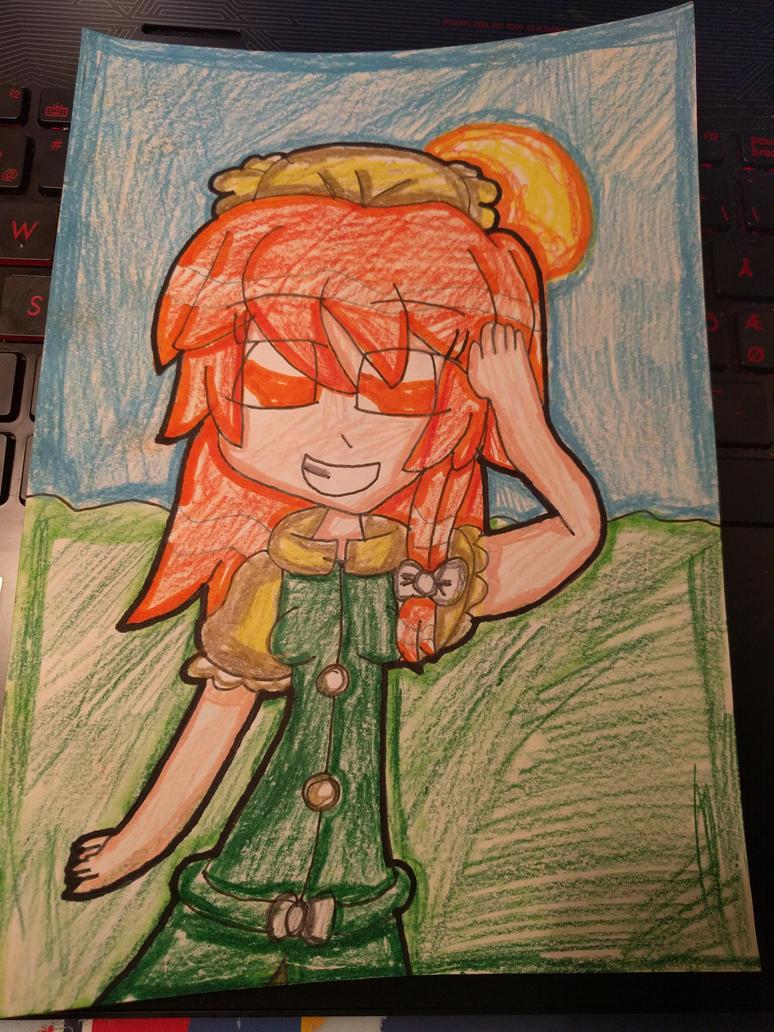 Orange, the youkai girl (Touhou) by Daniela56438