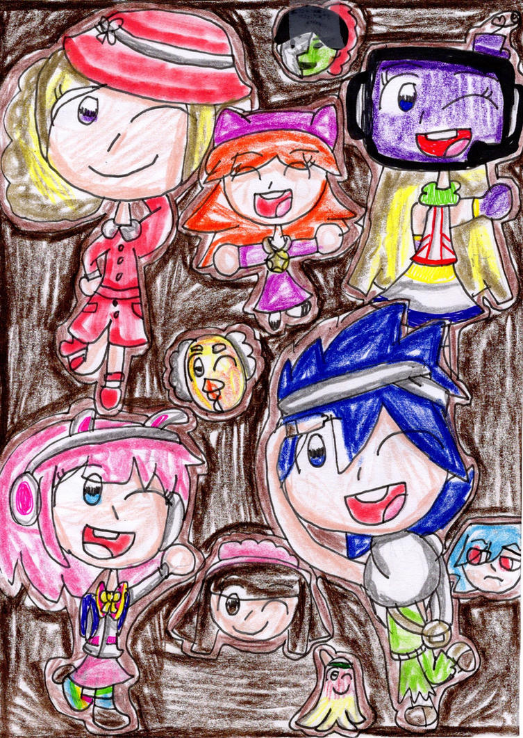 ~ Some Pop'n characters as cookies ~ by Daniela56438
