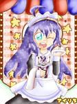 Preparing Cafe star Anna (Idolmaster)