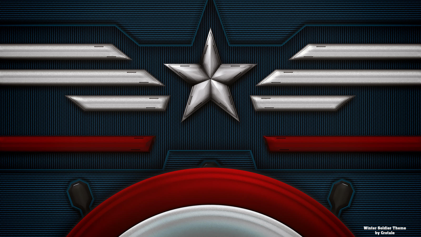 captain america winter soldier theme by crotale on deviantart. Black Bedroom Furniture Sets. Home Design Ideas
