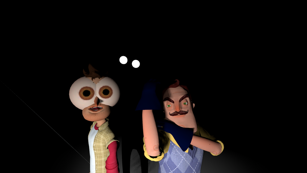 Hello Neighbor (2) by TheKingOfHyperDeath on DeviantArt