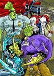 The Maxx_War Blade_Savage Dragon_Die Hard_Spawn by violencejack666